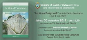 """Presentazione """"Le Mura Poligonali"""" @ Biblioteca Comunale di Alatri"""